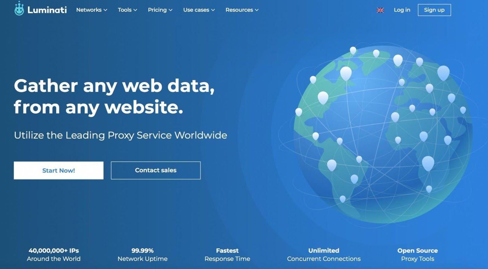 Luminati Website