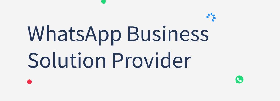 whatsapp business API solution provider